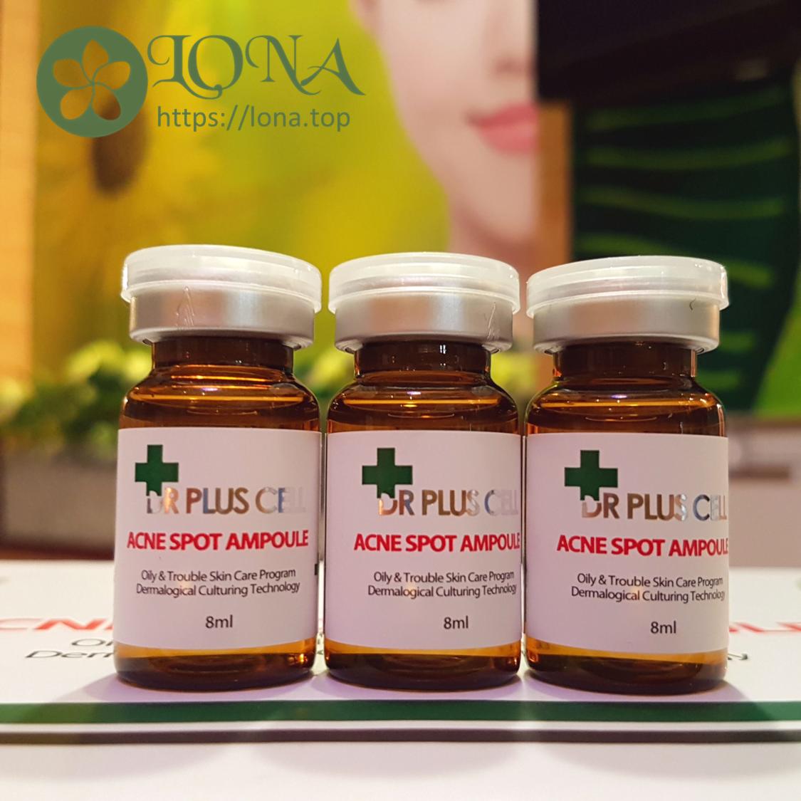 Tế bào gốc trị mụn dr pluscell - acne spot ampoule